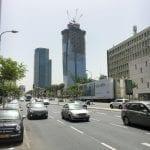 Growing Tel Aviv buildings