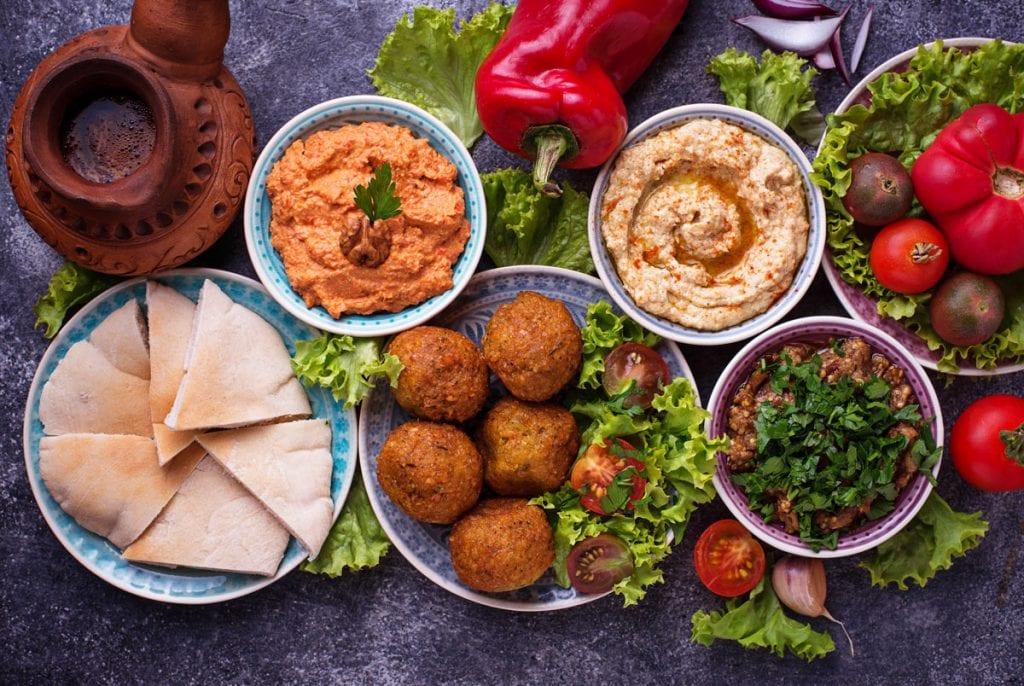 Die israelische Küche. Mit Pita, Humus und vielen Köstlichkeiten